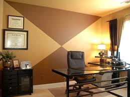 simple chocolate three ways accent walls office designs