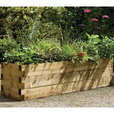 Wall Garden Kits by Forest Garden Caledonian Raised Vegetable Plant Bed Pressure Treated