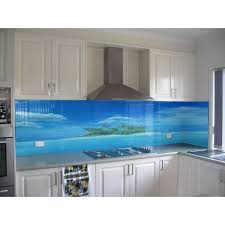 cr馘ence de cuisine en verre cr馘ence adh駸ive cuisine castorama 82 images id馥 cuisine
