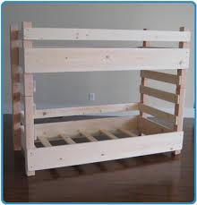 How To Make Bunk Beds Free Building Plans Tutorial Modern Diy - Homemade bunk beds
