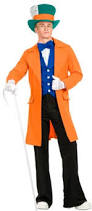 Mad Hatter Halloween Costume Victorian Men U0027s Costumes Mad Hatter Rhet Butler Willy Wonka
