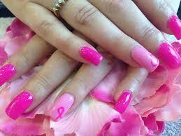 19 bright pink nail designs 25 pink acrylic nail art designs