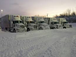 epic blizzard strands 6 fedex freight drivers