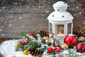 photo of christmas candle and ornaments free images a large pillar
