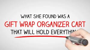 gift wrap cart gift wrap organizer cart