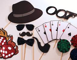 themed photo booth bond themed photo booth props features oversized deck
