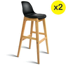 bar stools brian industrial bar stool with two bar back rest