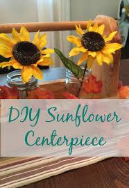 Sunflower Centerpiece Real U0027s Realm Diy Sunflower Centerpiece For A Gourmet Soup Party