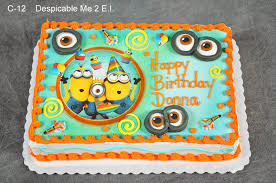 Despicable Me Decorations Birthday Cakes Images Remarkable Despicable Me Birthday Cakes