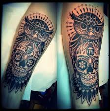 25 trending skull sleeve ideas on pinterest half sleeve tattoos