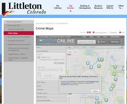 Littleton Colorado Map by Littleton Police Utilize Crime Maps U2013 Littleton Report