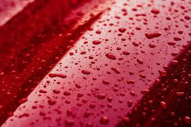 water drops on car paint ii