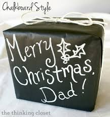 chalkboard wrapping paper 19 creative gift wrapping ideas 4 real