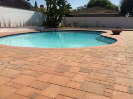 How To Lay Patio Pavers by Ocean Pavers Pool Deck Pavers Installation Orange County