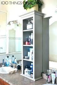 kitchen countertop storage ideas shelves bathroom bathroom storage counter organizer kitchen counter