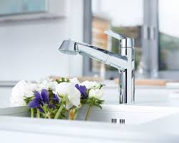 Grohe Eurodisc Kitchen Faucet Faucet 33330002 In Starlight Chrome By Grohe