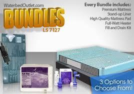 7127 waterbed mattress bundle