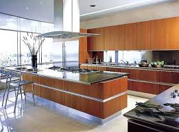 open kitchen ideas open kitchen designs with brown cabinet countertop and dining table