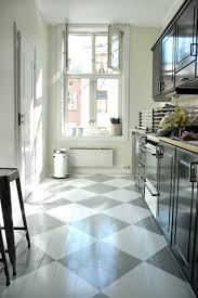 painted wood floors ideas small galley kitchens painted wood