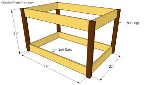 Wooden Box Plans Free by Deck Box Plans Free Garden Plans How To Build Garden Projects