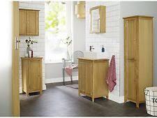 oak bathroom cabinet ebay