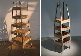 Wood Bookshelves by Wood Bookshelves And Bookcases Of The Bizarre