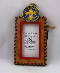 boy scouts of america rectangle photo christmas ornament kurt