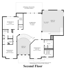 Charleston Floor Plan by Town Lake At Flower Mound The Charleston Home Design