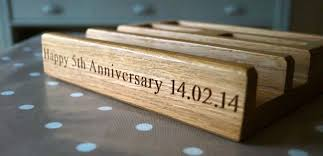 fifth anniversary gift ideas for him 5th anniversary gifts for him makemesomethingspecial