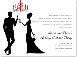 christmas cocktail party invitations silhouette champagne toast white invitations by noteworthy