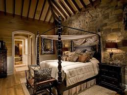 rustic bedroom decorating ideas rustic bedroom wall decor ideas light blue stained wall dark