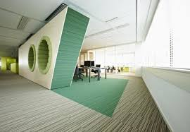 Very Futuristic Layout Here With Some Innovative Features - Modern office interior design