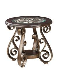 Glass Top Coffee Tables And End Tables Standard Furniture Bombay 3 Glass Top Coffee Table Set In