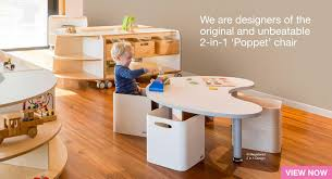 play desk for childcare tables chairs cots role play storage furniture