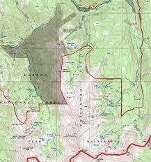 Opal Creek Oregon Map Bull Of The Woods Creek Cascades Dougscottart Com
