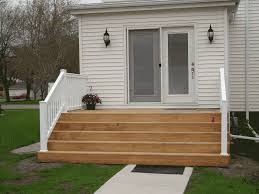liking the wide idea for back door leading to platform deck