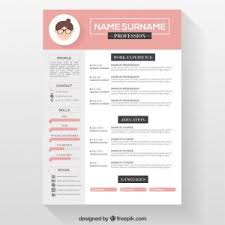 resume templates word format free download free resume templates cv template and sle throughout 89