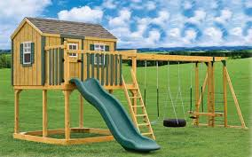 Swings For Backyard Backyard Billy U0027s Swingsets Wood U0026 Vinyl Kid U0027s Playsets Free