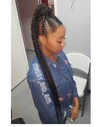 human hair ponytail with goddess braid pin by kingsmen proof on prom pinterest black girls hairstyles