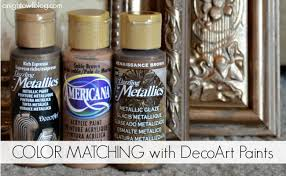 color matching with decoart paints a night owl blog