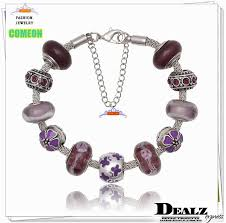 glass beads pandora bracelet images High quality silver 925 charms bracelets european crystal glass jpg