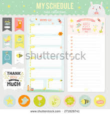 romantic love cards notes stickers labels stock vector 271828223