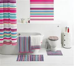 Bright Shower Curtains Buy Bright Stripe Shower Curtain From The Next Uk Shop