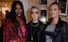 25 best moss for century kate moss cara delevingne more sit front row at burberry
