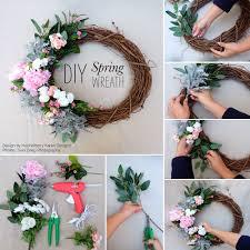 Grapevine Floral Design Home Decor The Diy Spring Wreath Glue Guns Wreaths And Guns