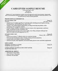 Resume For Caregiver Download Nanny Resume Sample Haadyaooverbayresort Com
