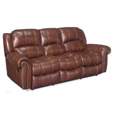 cognac leather reclining sofa hooker furniture seven seas leather sofa set in cognac leather