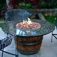 Glass Firepits Glass Pits Propane Glass Pit Table Propane