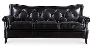 canapé cuir noir canapé cuir noir vintage matelassé haut de gamme lestendances fr