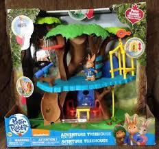 rabbit treehouse rabbit adventure treehouse play set nickelodeon new ebay